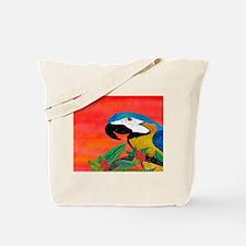 Parrot Head Tote Bag