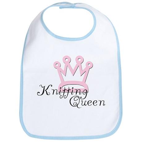 Knitting Queen Bib