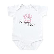 Knitting Queen Infant Bodysuit