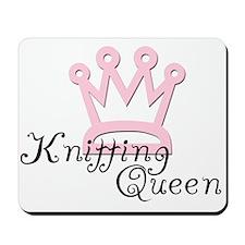 Knitting Queen Mousepad