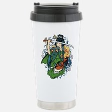 fierce warrior Travel Mug