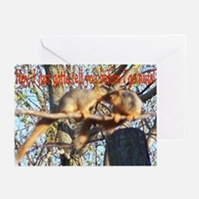 Squirrel Gossip Greeting Cards (Pk of 10)