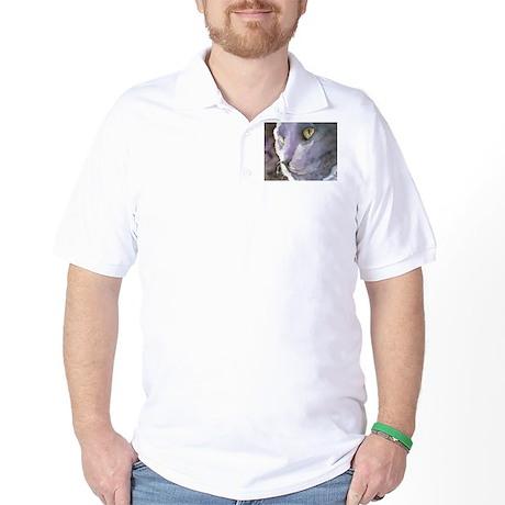 Russian Blue Golf Shirt