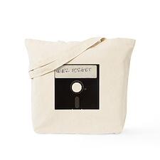Never Forget Computer Floppy Disks Tote Bag