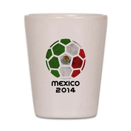 Mexico World Cup 2014 Shot Glass