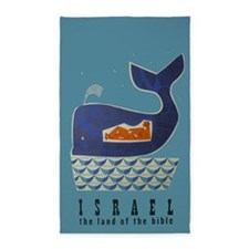 Whale, Jonah, Israel, Vintage Travel Poster 3'x5'