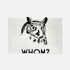 Hoo Who Whom Grammar Owl Magnets