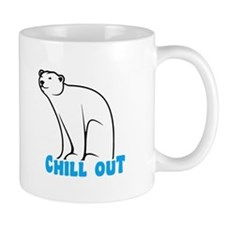 Chill Out Polar Bear Mugs