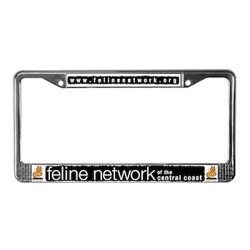 Feline Network Logo - License Plate Frame