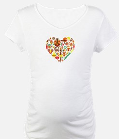 Cameroon World Cup 2014 Heart Shirt