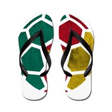 Cameroon World Cup 2014 Flip Flops