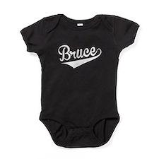 Bruce, Retro, Baby Bodysuit