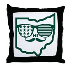 Ohio Custom design Throw Pillow