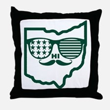 Ohio Custom design Throw Pillow