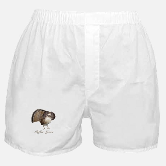 Strutting Grouse Boxer Shorts