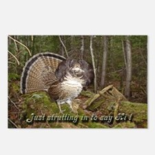 Strutting Grouse Postcards (Package of 8)