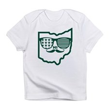 Ohio Mustache Infant T-Shirt