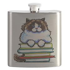 Ragdoll Cat Books Flask