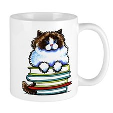 Ragdoll Cat Books Mugs