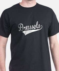 Brussels, Retro, T-Shirt