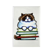 Ragdoll Cat Books Magnets