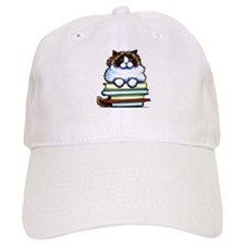 Ragdoll Cat Books Baseball Baseball Cap