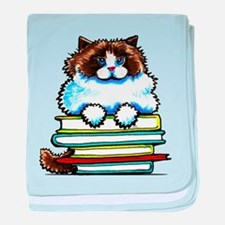 Ragdoll Cat Books baby blanket