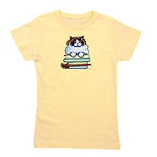 Ragdoll Cat Books Girl's Tee