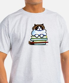 Ragdoll Cat Books T-Shirt
