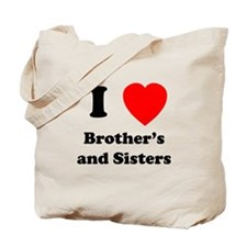Bother's and Sisters Tote Bag