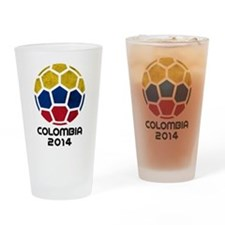 Colombia World Cup 2014 Drinking Glass