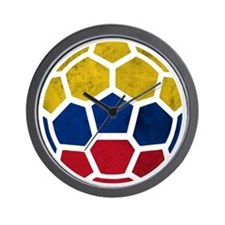 Colombia World Cup 2014 Wall Clock