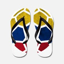 Colombia World Cup 2014 Flip Flops