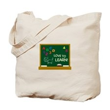 Love To Learn! Tote Bag
