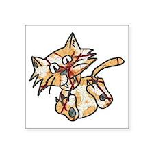 "Cats life Square Sticker 3"" x 3"""