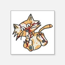 "Cats life Square Sticker 3"" x 3"""