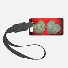 Stone Hearts Luggage Tag
