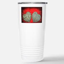 Stone Hearts Stainless Steel Travel Mug