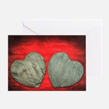Stone Hearts Greeting Card