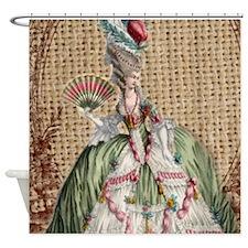 vintage marie antoinette paris fashion floral Show