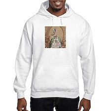 vintage marie antoinette paris fashion floral Hood