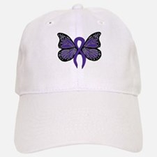 Relay For Life - Purple Ribbo Baseball Baseball Cap