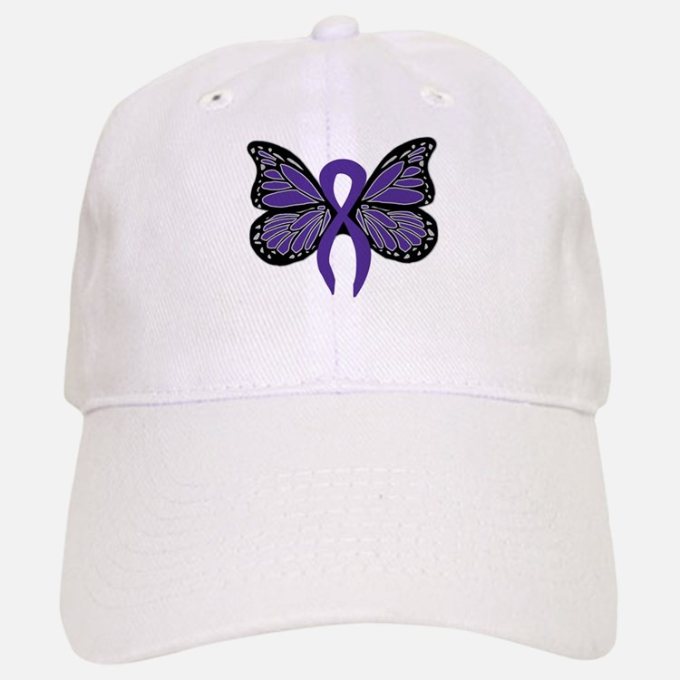 Relay For Life - Purple Ribbo Baseball Baseball Cap