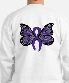 Relay For Life - Purple Ribbo Sweatshirt