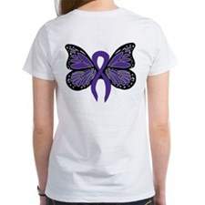Relay For Life - Purple Ribbo Tee