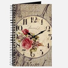 vintage paris clock french fashion decor Journal