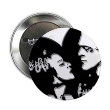 """Frank and his Bride 2.25"""" Button"""