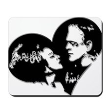 Frank and his Bride Mousepad