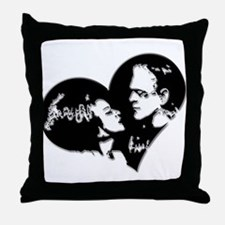 Frank and his Bride Throw Pillow