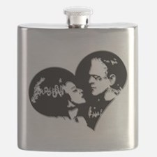 Frank and his Bride Flask